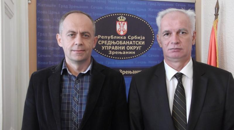 20151009 Plovan Begej do 2020 Stevan Ilincic i nacelnik SBO Dusan Sijan