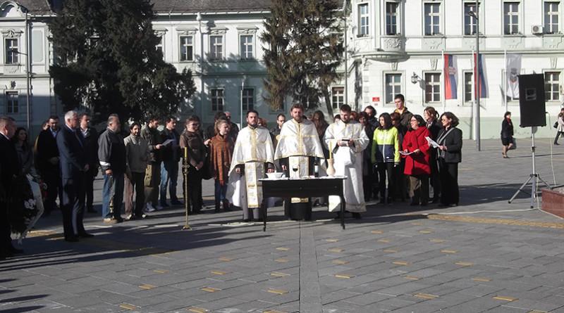 Obelezen praznik grada verski obred