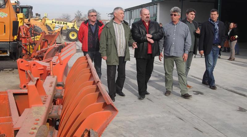 Zimska sluzba spremna Gradonacelnik u obilasku mehanizacije Eko Gradnje