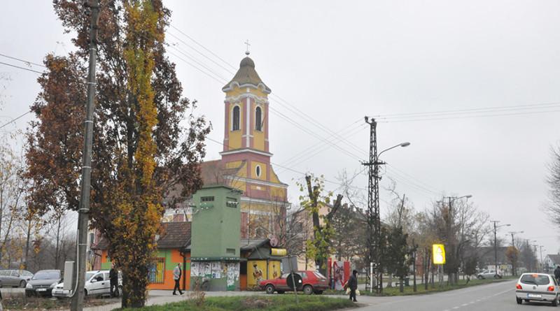 zitiste naselje svecanost dan opstine selo ulice spomenik skola detalji