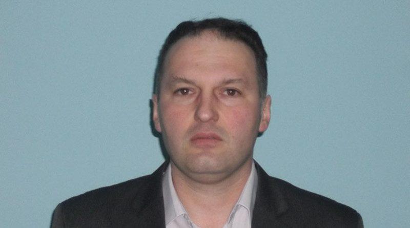 Dalibor RADOSAVLJEVICv v d predsednika Gradske porganizacija SRS Zrenjanin