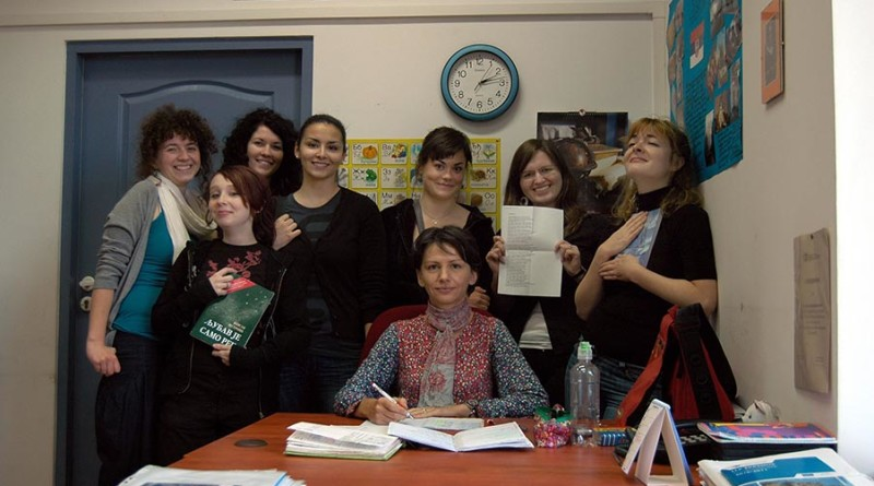 xxx reportaze - 1 B Gordana sa studentima u Vroclavu