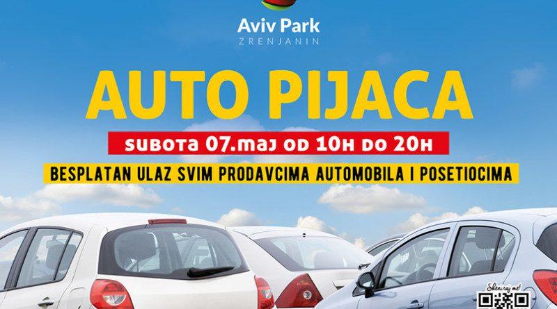 """AUTO PIJACA U """"AVIV PARKU"""": Prodaj, kupi ili zameni automobil"""