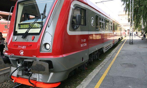 Treći ruski savremeni dizel voz na zrenjaninskoj železničkoj stanici