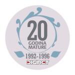 matura  20 god bedz logo
