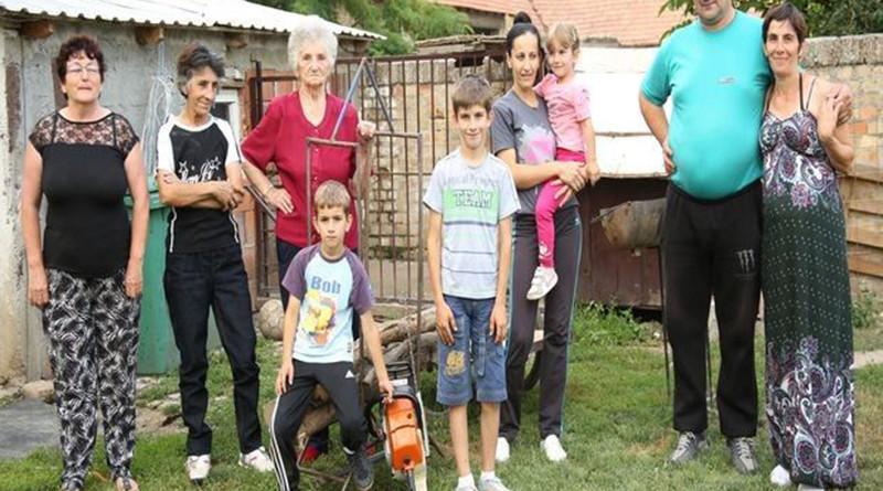 pomoc za porodicu glusac iz cesterega