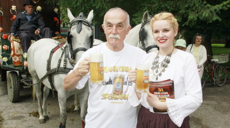 """FIJAKERI KENULI ULICAMA ZRENJANINA: Poziv na """"Dane piva"""" uz pivo"""