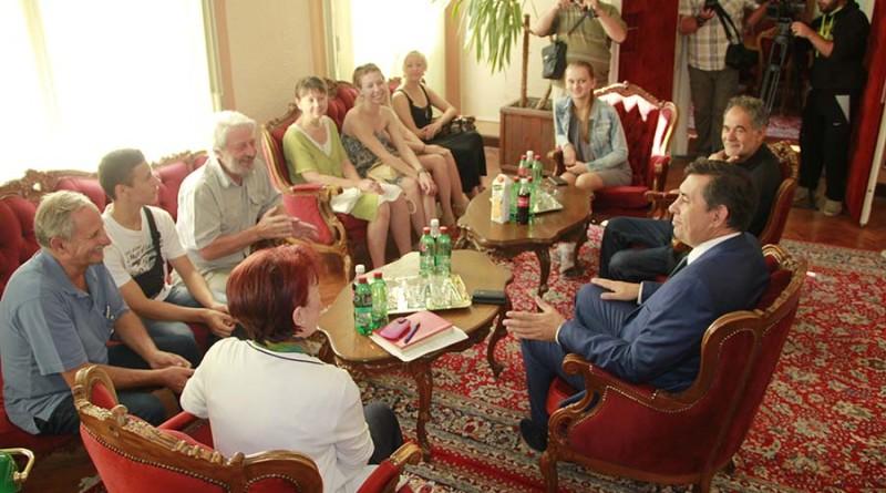 prijem za folklorce iz rusije