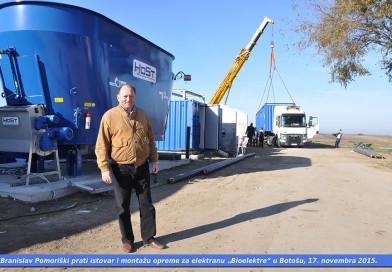 """U BOTOŠU, 4. OKTOBRA – Svečano puštanje u rad elektrane """"Bioelektra"""""""