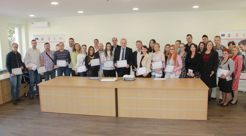 ZAVRŠEN PROJEKAT PREKOGRANIČNE SARADNJE SRBIJA-RUMUNIJA: Žitištu Kancelarija za razvoj, Sakalazu info-point