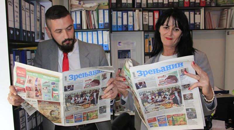 "I SAVET I INFORMACIJA: Saradnja ""Zrenjanina"" i agencije ""General book"""