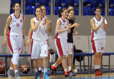 Ubedljiva pobeda košarkašica