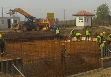 Gradnja fabrike vode uživo na sajtu