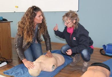 KORISNO: Studenti na kursu prve pomoći