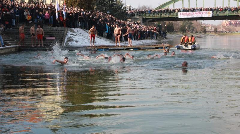 NA BOGOJAVLJENJE: Plivanje za časni krst – svi su pobednici