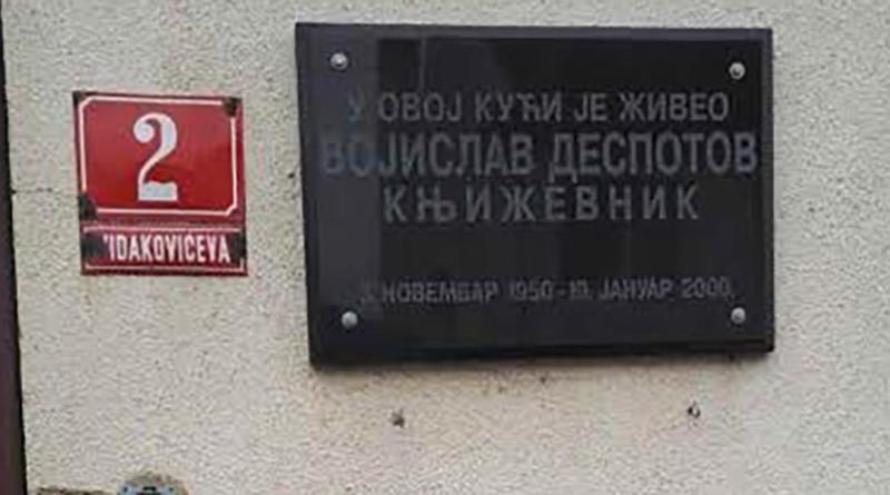 Sećanje na Vojislava Despotova