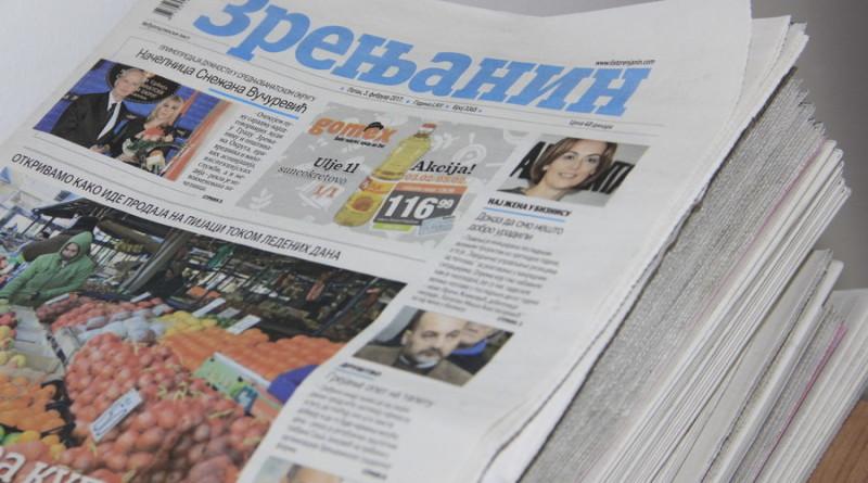 """POČINjE VELIKA AKCIJA LISTA """"ZRENjANIN"""": Kuponi za popuste – poklon oglašivača"""