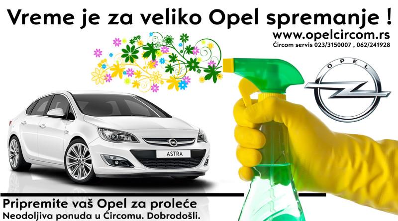 1-Opelspremanje