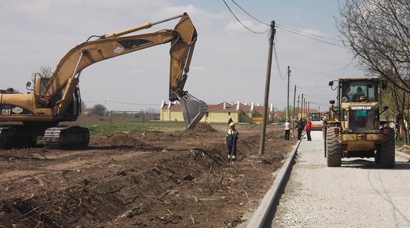 Rekonstrukcija ul F Kluza pocetak aprila