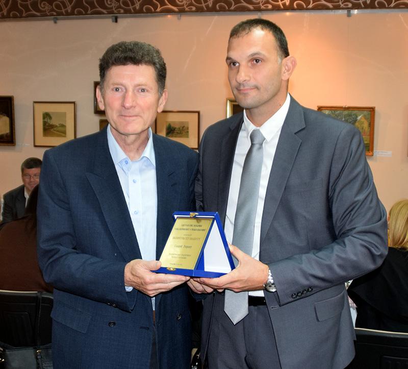 Zoran Slavic sa pomocnikom gradonacelnika Simom Salapurom