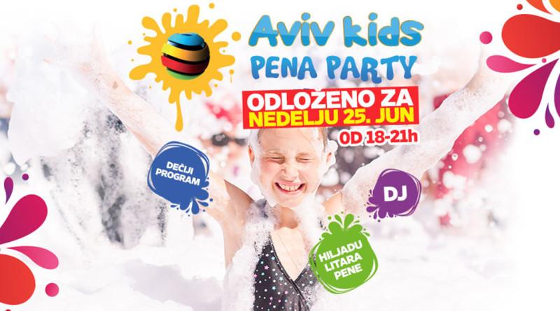 """DEČJA PENA ŽURKA U """"AVIVU"""": Zabava uz mađioničare i animatore"""