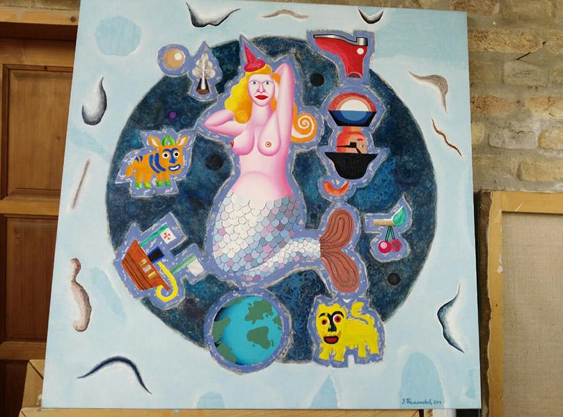 11 - 2 B Jedno od Zoranovih umetnickih dela