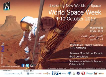 5-svetska nedelja svemira plakat