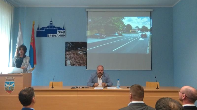 NAJAVA KAPITALNIH PROJEKATA: Bolje povezivanje Zrenjanina sa Beogradom i Novim Sadom