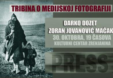 POZIV NA TRIBINU O MEDIJSKOJ FOTOGRAFIJI: Prijave traju do 27. oktobra