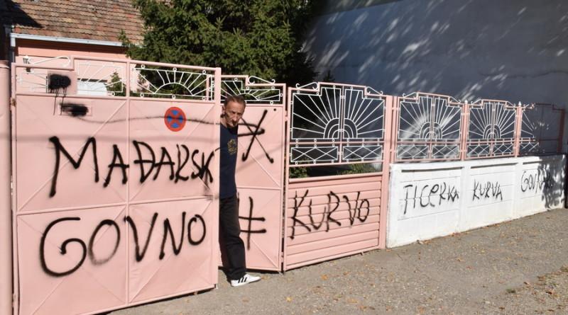 NA KAPIJI NAŠEG SUGRAĐANINA: Grafit za svaku osudu