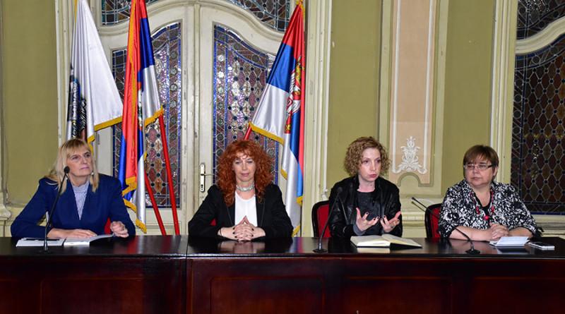 1 Dragica Stojanović, Jadranka Svirčev, Ivana Kukolj Solarov i Tanja Dulović