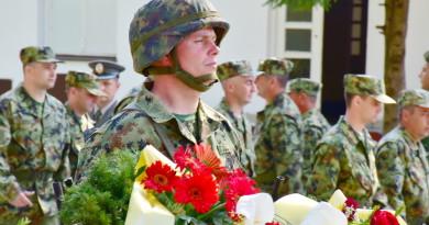U ZRENJANINSKOJ KASARNI OBELEŽEN NJIHOV DAN: Vojska je uvek bila oslonac države i naroda
