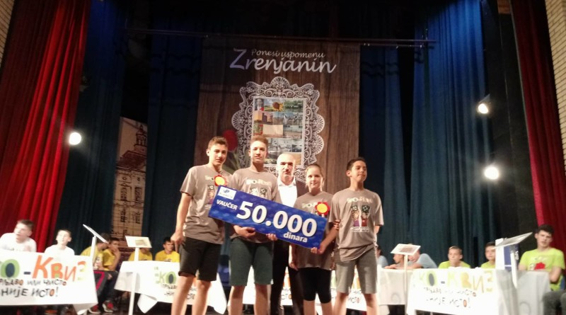 "ODRŽANO DRUGO REPUBLIČKO FINALE TAKMIČENJA ""EKO KVIZ"": Ekipa iz Gornjeg Milanovca odnela pobedu"