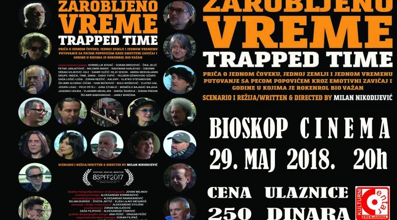 """U UTORAK U BIOSKOPU """"SINEMA KCZR"""": Premijera filma """"Zarobljeno vreme"""""""