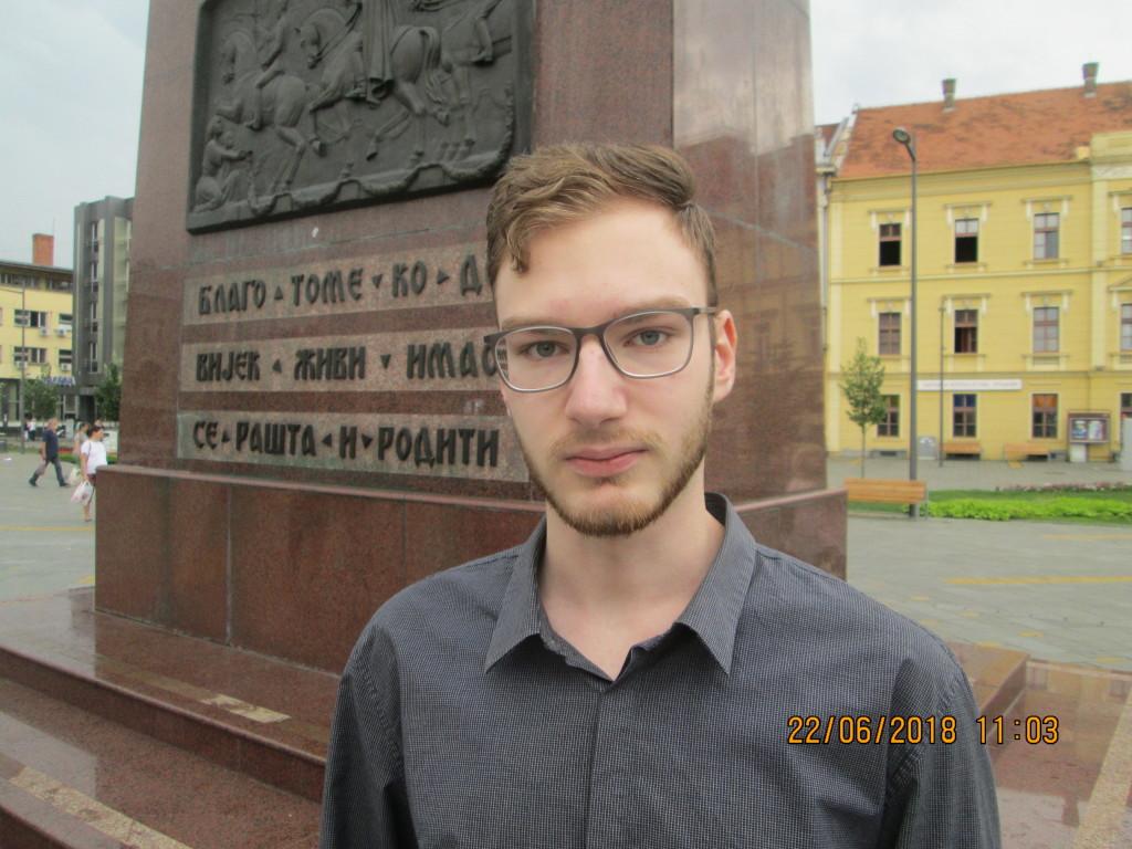 Najbolji matematicar medju gimnazijancima Srbije Relja Mihic