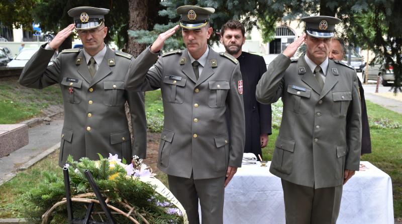 Pomen poginulima Delegacija Vojske Srbije