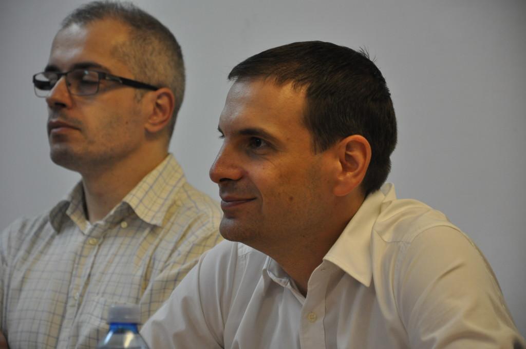 Tribina o KiM Caslav Koprivica i Milos Jovanovic