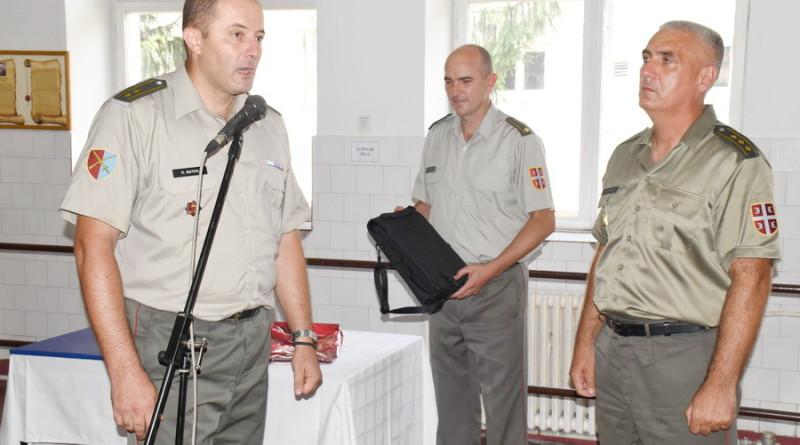 PRIMOPREDAJA DUŽNOSTI KOMANDANTA BANATSKE BRIGADE ZA RAZVOJ: Komandu preuzima pukovnik Nikola Dejanović, pukovnik Ognjanov prelazi u Generalštab Vojske Srbije