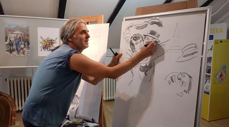 16-1-Zagor- Strip crtac Miodrag Ivanovic Mikica