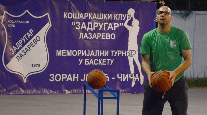 47 - 3 B Basket turnir Lazarevo najbolji trojkas Milan Bosnic