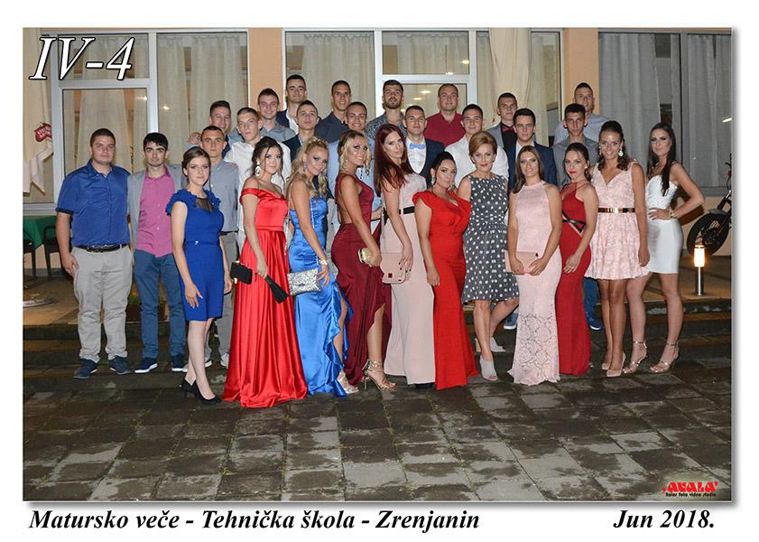 IV-4 Sa razrednim staresinom Biljanom Felbab