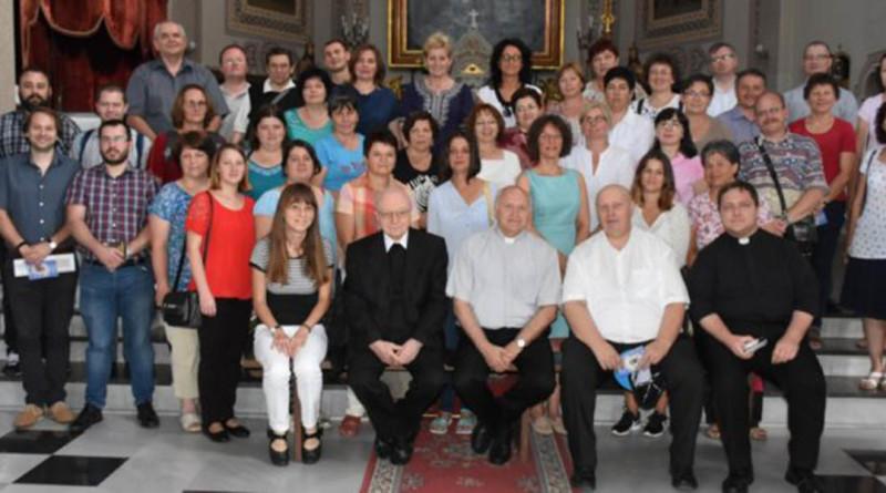 A Nagybecskereki Egyházmegye területén romániai hitoktatók jártak