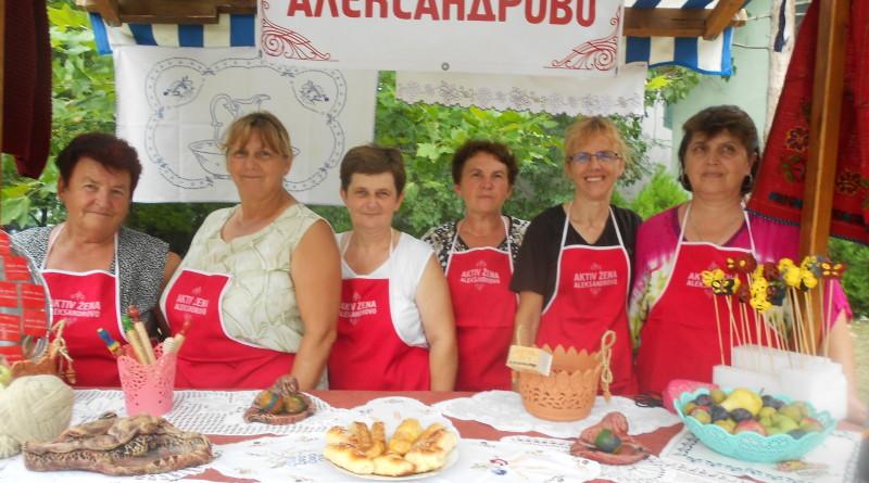 UOČI ILINDANA: U Aleksandrovu održan etno-bazar