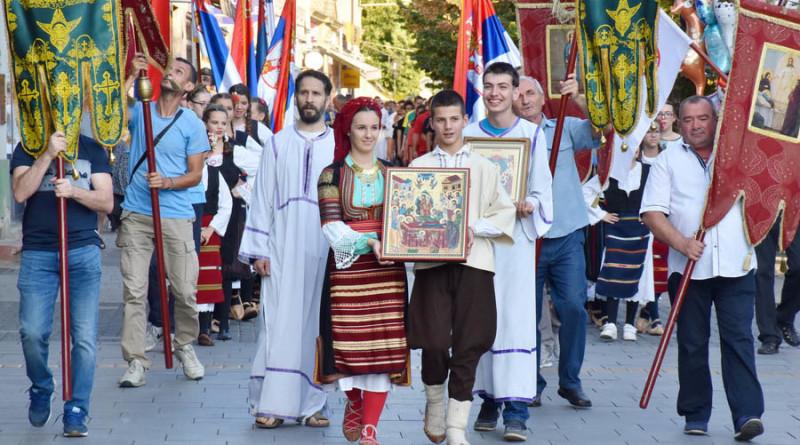 OBELEŽENA SLAVA ZRENJANINA: Svečana litija prošla ulicama grada