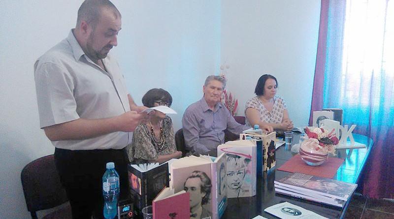 Prezentarea edituri, literaturi și realizările în domeniul culturi a județului Bistrița-Năsăud