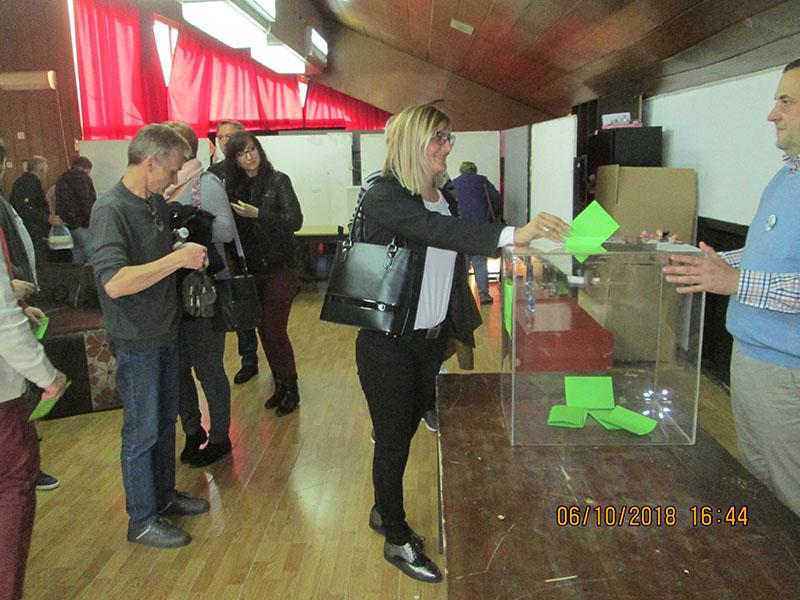 Kongres Ligasa glasanje