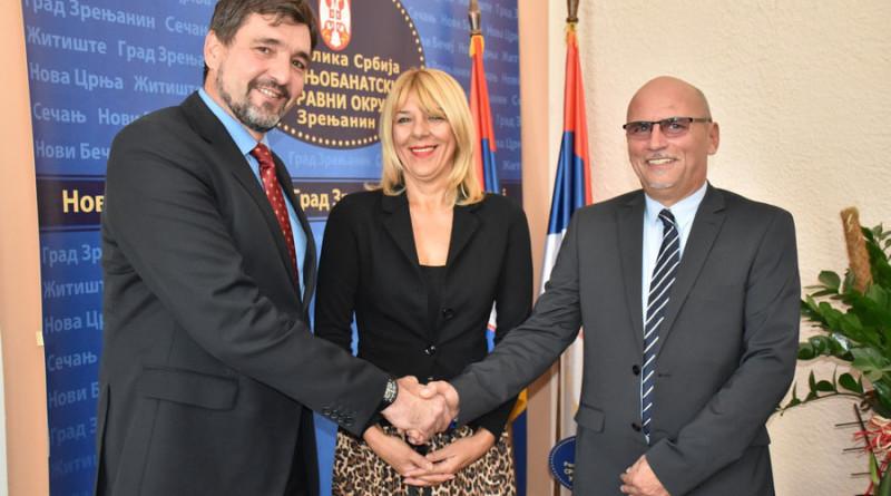 RADNI SKUP U SEDIŠTU SREDNJOBANATSKOG OKRUGA: Sledi sastanak Međuvladine komisije Srbije i Rumunije