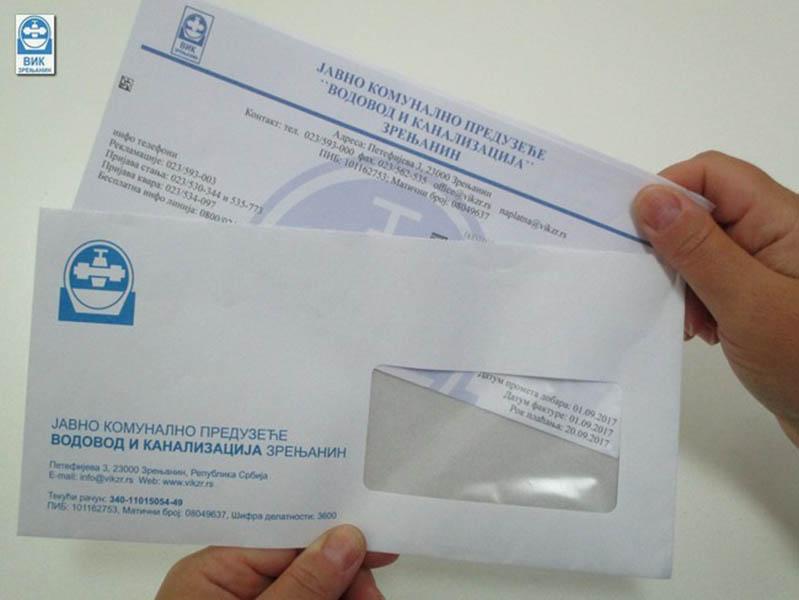 """JKP """"VODOVOD I KANALIZACIJA"""": Počela podela septembarskih računa"""
