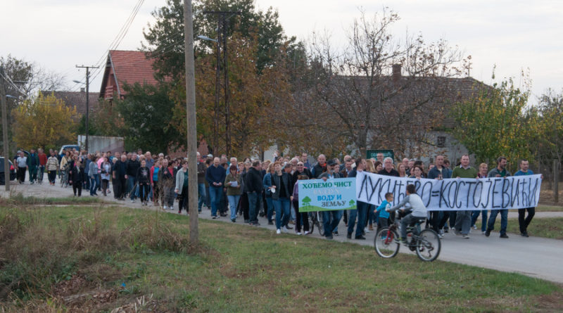 PROTESTNI SKUP U LUKIĆEVU: Građani traže zaštitu od zagađenja vazduha, vode i zemljišta