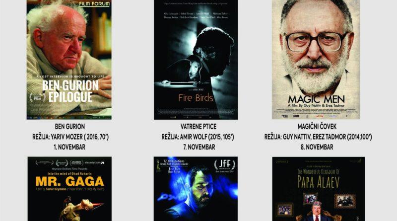FILMSKI CIKLUS: Izraelska ostvarenja u Kulturnom centru